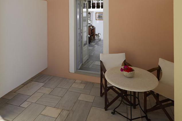 Cori Rigas Suites-Fira-Santorini-Petite Suite Shared Terrace1.4