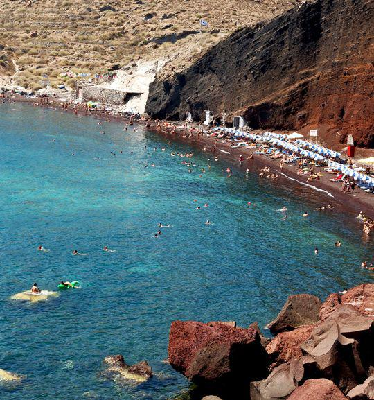Cori Rigas Suites - Fira Santorini - Red Beach