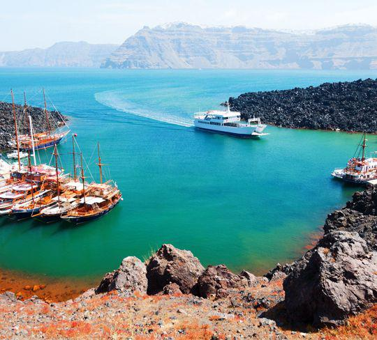 Experiences - Santorini Main Attractions- Cruises - Cori Rigas Suites