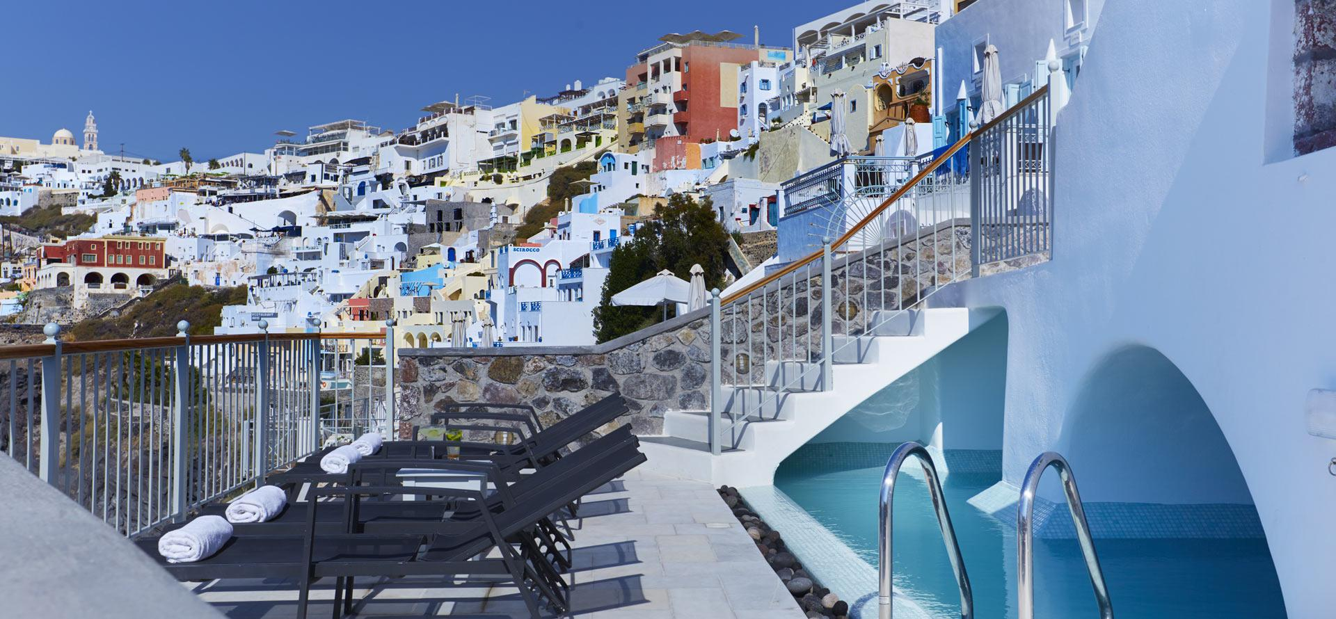 Cori Rigas Suites-Fira-Santorini-ATerreces with View