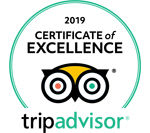 TripAdvisor Certificate of Excellence 2019 Award